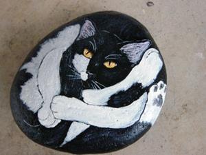 Detail Image for art Cat Yoga