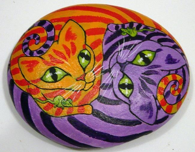 Art: Korpita Kats by Artist Tracey Allyn Greene
