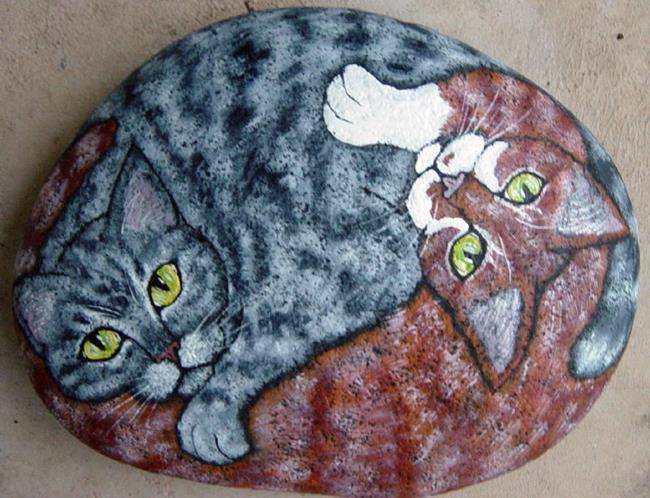 Art: Korpita Kats II by Artist Tracey Allyn Greene