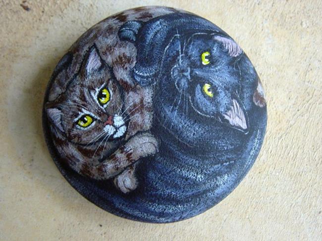 Art: Madeline's Sweet Cats by Artist Tracey Allyn Greene