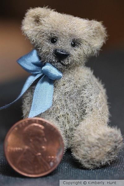 Art: 1 3/4 Teddy Bear SOLD by Artist Kimbearly's Originals