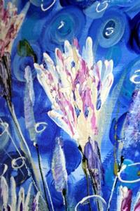 Detail Image for art WHITE WATER FLOWERS