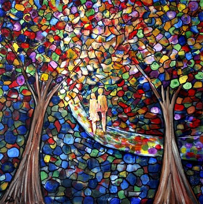 Art: WEDDING in the PARK by Artist LUIZA VIZOLI