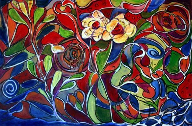 Art: HIDDEN TREASURES by Artist LUIZA VIZOLI