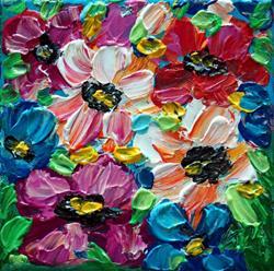 Art: THE SPRING FLOWERS by Artist LUIZA VIZOLI