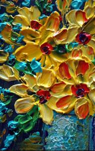 Detail Image for art YELLOW BOUQUET