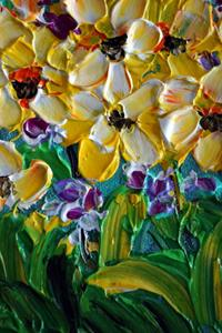Detail Image for art Daffodil Flowers