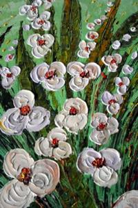Detail Image for art WHITE ORCHIDS