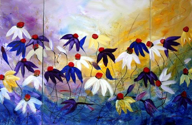 delicate flowers  by luiza vizoli from abstract representational, Beautiful flower