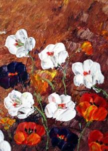 Detail Image for art TUSCANY FLOWERS