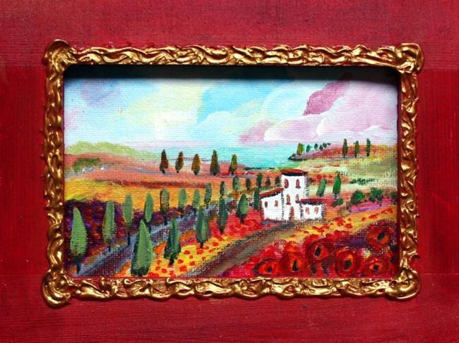 Art: ITALY by Artist LUIZA VIZOLI