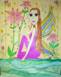 Art: The Long-Haired Fae by Artist Jennifer Lee