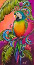 Art: Paradise Paisley by Artist Alma Lee