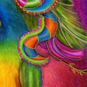 Detail Image for art Paradise Paisley