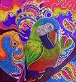 Art: Sharpie: the MaCaw by Artist Alma Lee