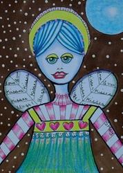 Art: Love, Hugs, Kisses-Sold by Artist Sherry Key