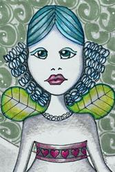 Art: Country Winter Fairy by Artist Sherry Key