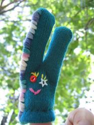 Art: finger puppet for Art-o-mat®  by Artist Took Gallagher