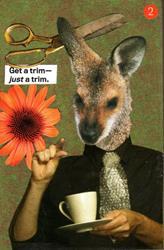 Art: Just a Trim -- for Art-o-mat®  by Artist Took Gallagher
