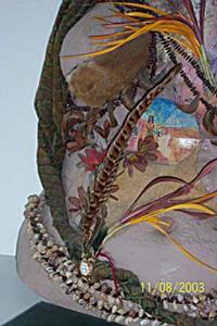 Detail Image for art Wild Woman Torso Cast