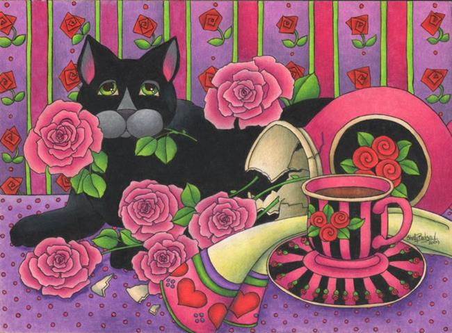 Art: A Rose for Mom by Artist Shelly Bedsaul