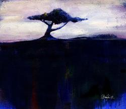 Art: Tree #7 by Artist Kathy Morton-Stanion