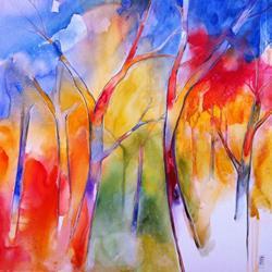 Art: I colori del bosco by Artist Alessandro Andreuccetti