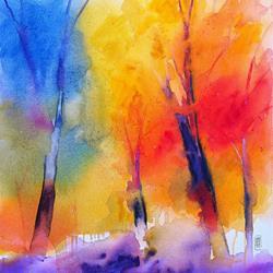 Art: Sinfonia di colori nel bosco by Artist Alessandro Andreuccetti