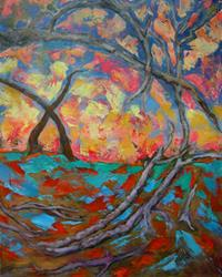 Art: Mind Trees by Artist Virginia Ann Zuelsdorf