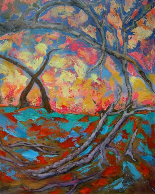 Art: Mind Trees by Artist Virginia Ann Zuelsdorf