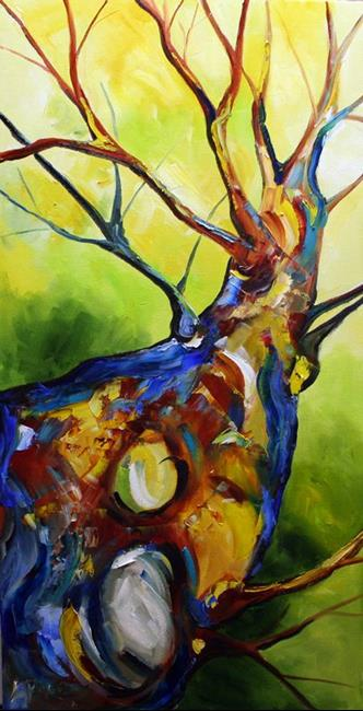 Art: Tree Gazing by Artist Laurie Justus Pace