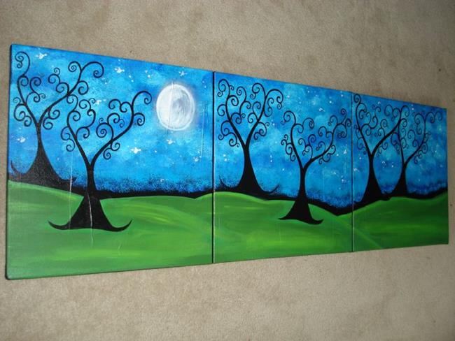 Art: By The Light Of The Moon by Artist Juli Cady Ryan