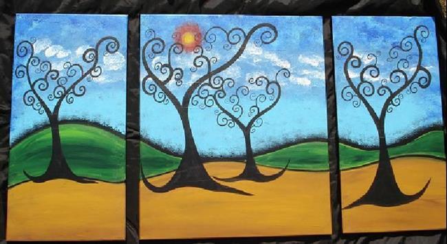 Art: The Mystical Forest II by Artist Juli Cady Ryan