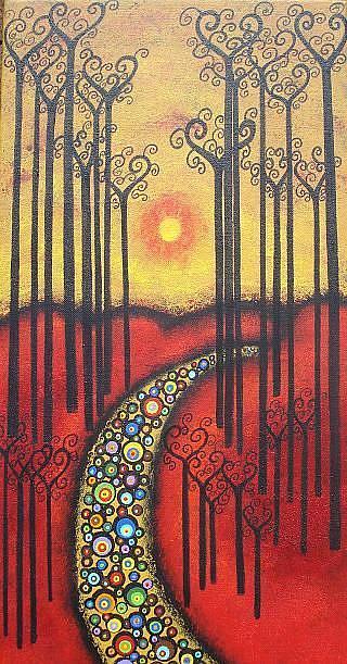 Art: Tall Dreams II by Artist Juli Cady Ryan