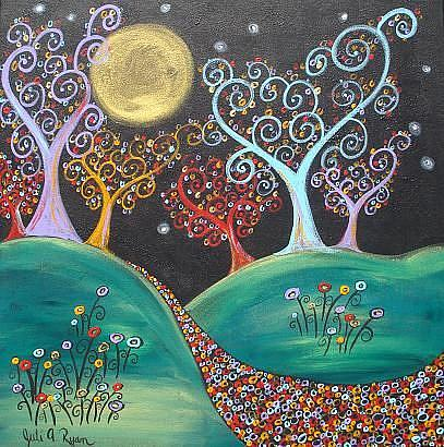 Art: Moonlight Dreams by Artist Juli Cady Ryan