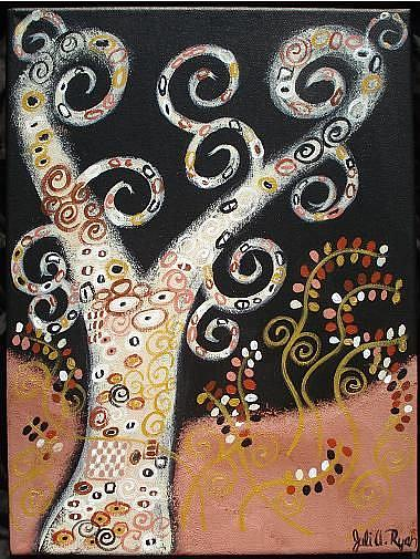 Art: The Wisdom Tree II by Artist Juli Cady Ryan