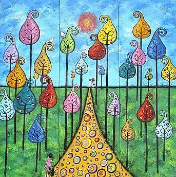 Art: Tall Dreams III by Artist Juli Cady Ryan