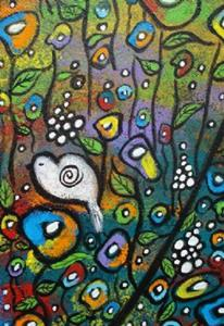 Detail Image for art Spreading Love And Peace