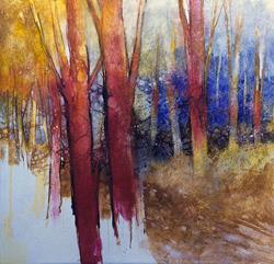 Art: Alla fine dell'estate il bosco diventa più bello by Artist Alessandro Andreuccetti