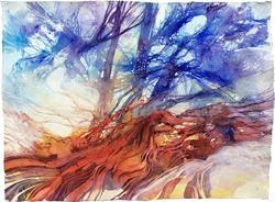 Art: Il grande albero caduto by Artist Alessandro Andreuccetti