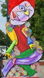 Art: Picasso's Scarecrow by Artist Tina Marie Ferguson