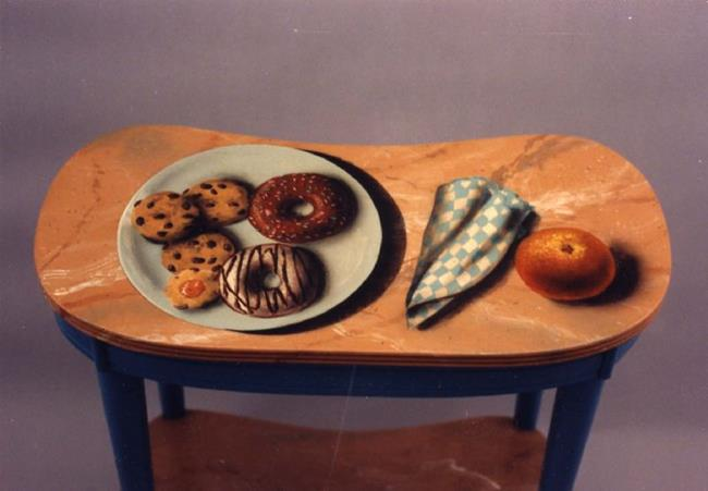 Art: Cookie Table by Artist Lauren Cole Abrams