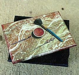 Art: Makeup Box by Artist Lauren Cole Abrams