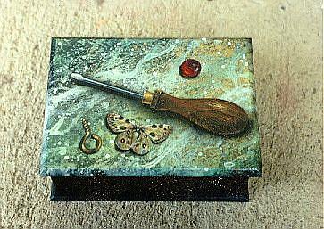 Art: Tool Box by Artist Lauren Cole Abrams