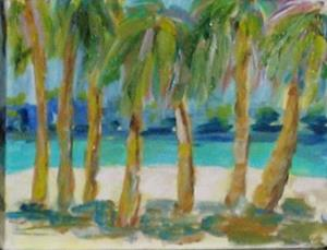 Detail Image for art Palm Trees
