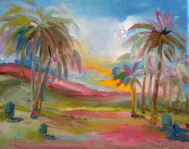 Art: Abstract Tropical by Artist Delilah Smith
