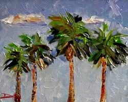Art: Tropical Drama by Artist Delilah Smith