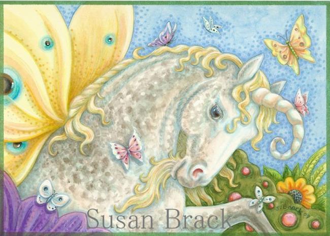 Art: WINGS OF A BUTTERFLY by Artist Susan Brack