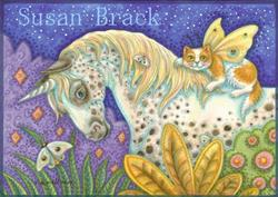 Art: APPALOOSA UNICORN by Artist Susan Brack