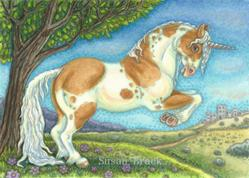 Art: UNICORN STALLION by Artist Susan Brack